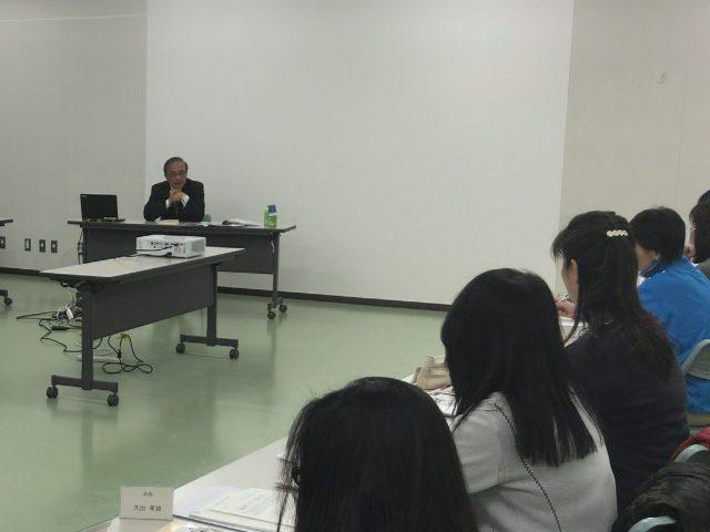 渋谷区青少年委員会研修会にて講演