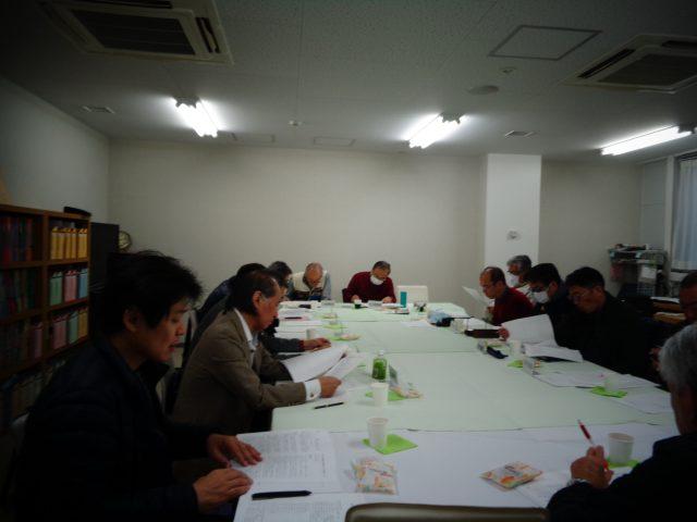 令和元年度3月度運営委員会及び大会実行委員会