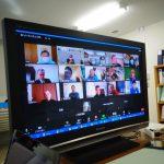 各地のおやじの会からオンライン参加(2月度運営委員会)